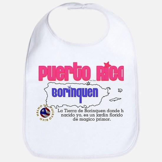 Puerto Rico es mi Borinquen Bib