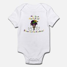 My First Mardi Gras! Infant Bodysuit