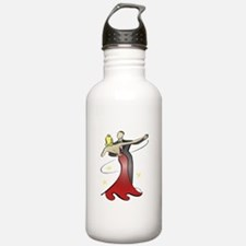 Vintage Ballroom Dancers Water Bottle