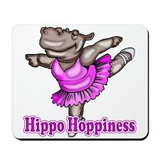 Hippo Ballet Dancer Mousepad