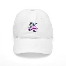 Hippo Ballerina Baseball Cap