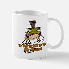 Tap Dancing Frog Mug
