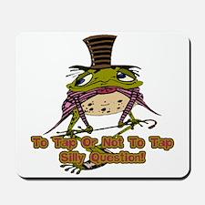 Tap Dancing Frog Mousepad