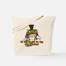 Tap Dancing Frog Tote Bag