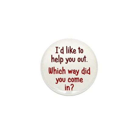 Like to Help You Out Mini Button (100 pack)