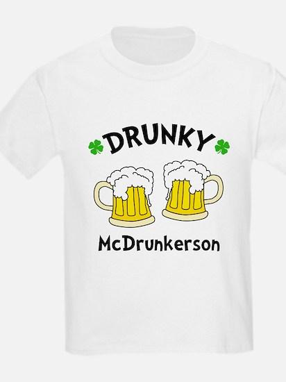 2 Mug Drunky T-Shirt
