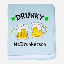 2 Mug Drunky baby blanket