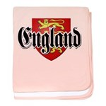 England Coat of Arms baby blanket