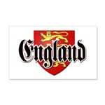 England Coat of Arms 22x14 Wall Peel