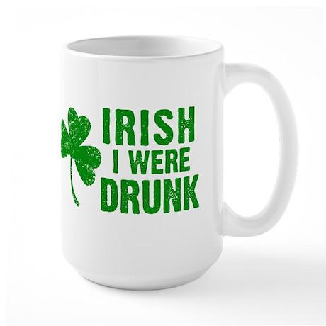 Irish Drunk Large Mug