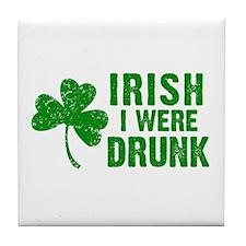 Irish Drunk Tile Coaster