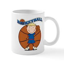Blond Boy Basketball Mug