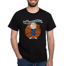 Blond Boy Basketball T-Shirt