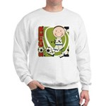 Boy Soccer Player Sweatshirt