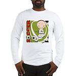 Boy Soccer Player Long Sleeve T-Shirt