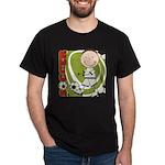 Boy Soccer Player Dark T-Shirt