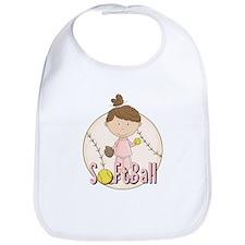 Girls Softball Bib