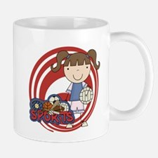 Girl Volleyball Mug