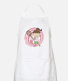 Girl Playing Tennis Apron