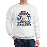 Girls Soccer Sweatshirt
