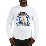Girls Soccer Long Sleeve T-Shirt