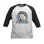 Girls Soccer Kids Baseball Jersey