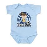 Girls Soccer Infant Bodysuit