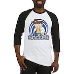 Girls Soccer Baseball Jersey