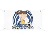 Girls Soccer Banner