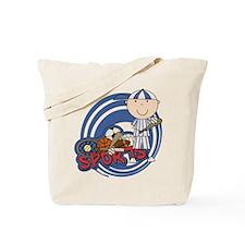 Boy Baseball All Star Tote Bag