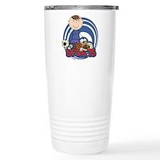 Boy Soccer All Star Travel Mug