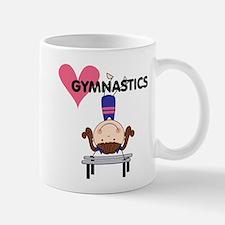 Girl Gymnast Handstands Mug