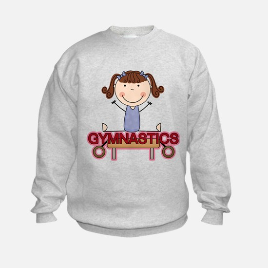 Girl Gymnast Doing Splits Sweatshirt