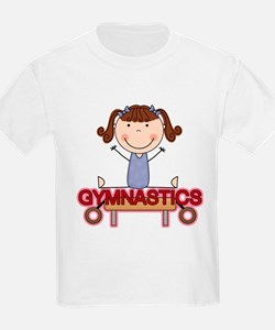 Girl Gymnast Doing Splits T-Shirt