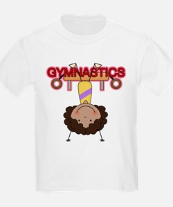 Girl Gymnast Doing Flips T-Shirt