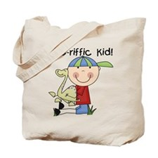 Dino-riffic Kid Tote Bag