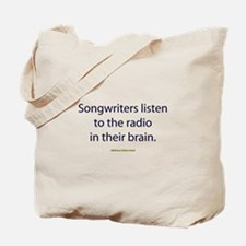 Songwriters Radio Tote Bag