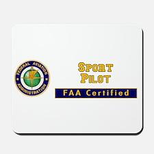 FAA Certified Sport Pilot Mousepad