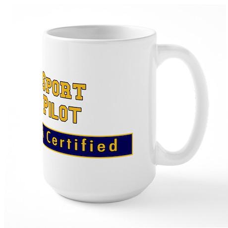 FAA Certified Sport Pilot Large Mug