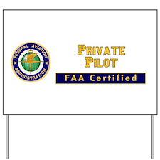 Private Pilot Yard Sign