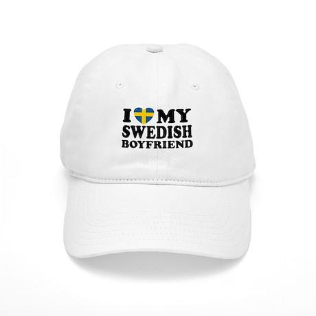 I Love My Swedish Boyfriend Cap