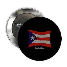 "Puerto Rico Flag Graffiti 2.25"" Button"