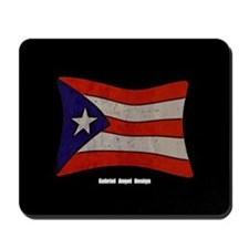 Puerto Rico Flag Graffiti Mousepad