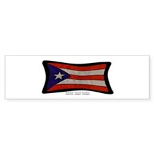 Puerto Rico Flag Graffiti Stickers