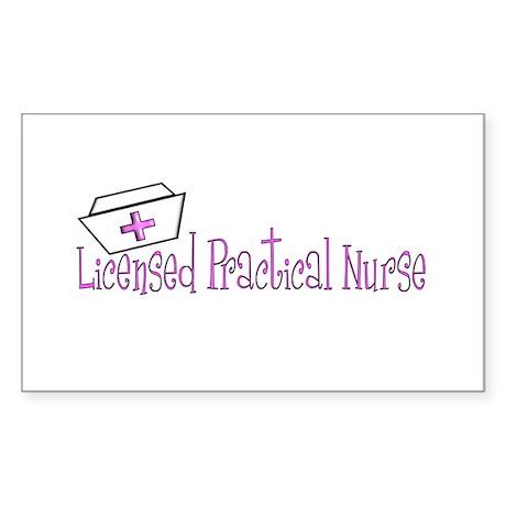 LPN Sticker (Rectangle 10 pk)