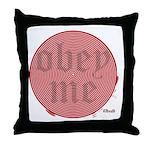 Trance-Obey Me Throw Pillow