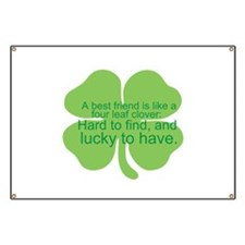 Unique Lucky irish Banner