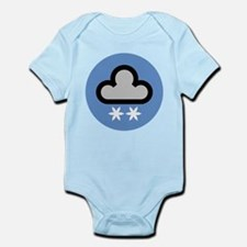 Snow Weather Symbol Infant Bodysuit