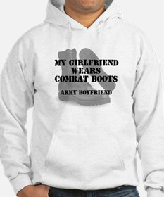 My Girlfriend Wears Army CB Hoodie