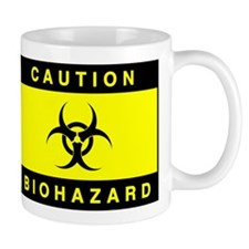 Biohazard Mug Yellow Mugs